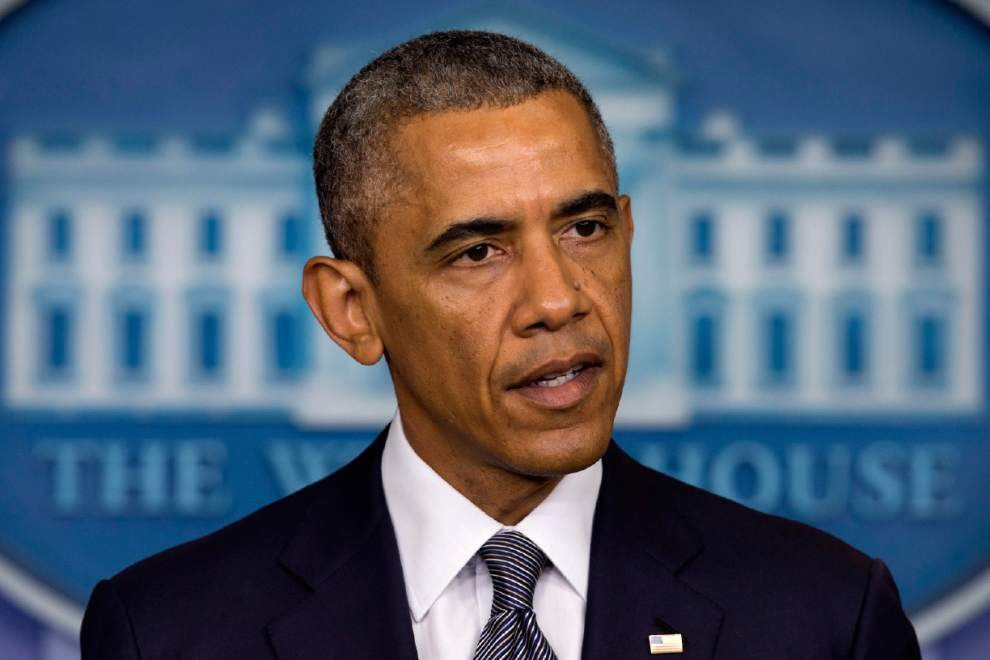 Obama: Plane shot down by missile, 1 American dead _lowres