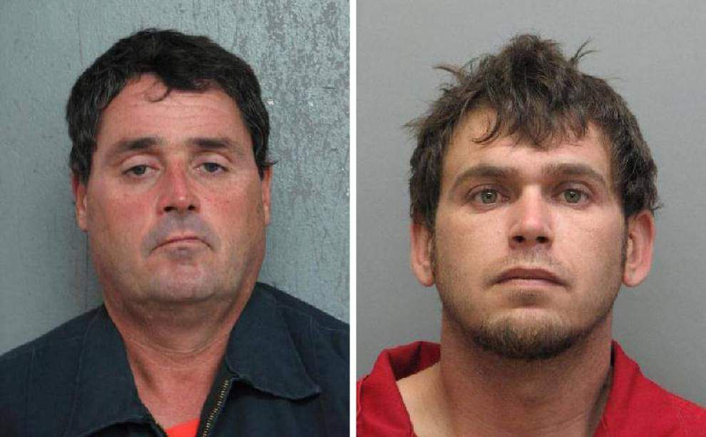 Suspected crawfish thieves arrested after several sacks stolen from Houma business _lowres