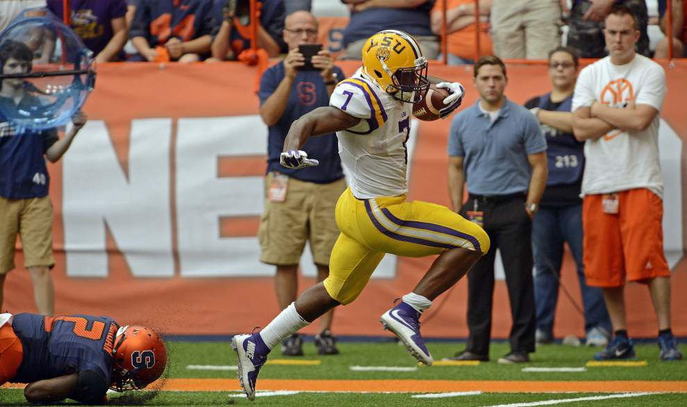 LSU rides running back Leonard Fournette to a 34-24 win at Syracuse _lowres