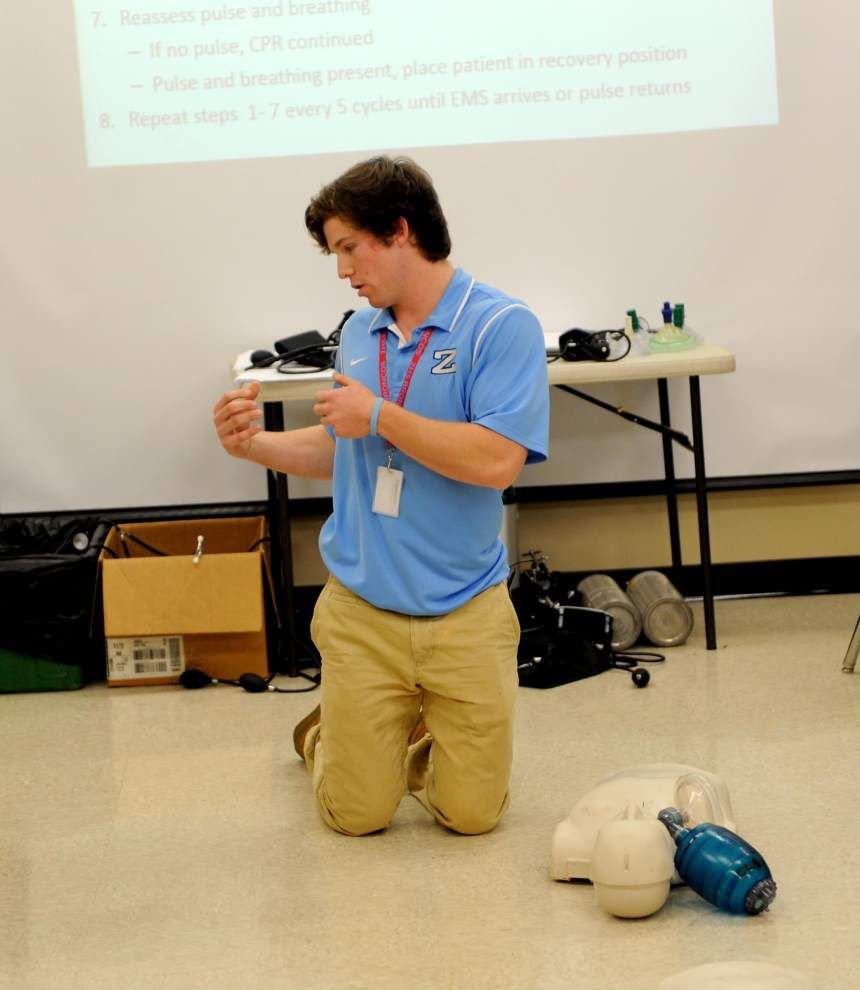 Senior's CPR training used to rescue his younger nephew _lowres