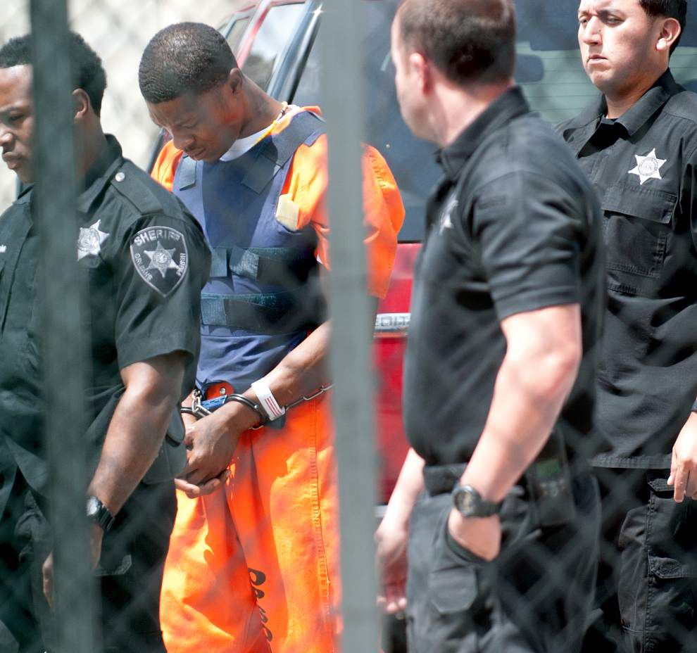 Accused NOPD cop killer Travis Boys makes first court appearance under heavy security on Tuesday _lowres
