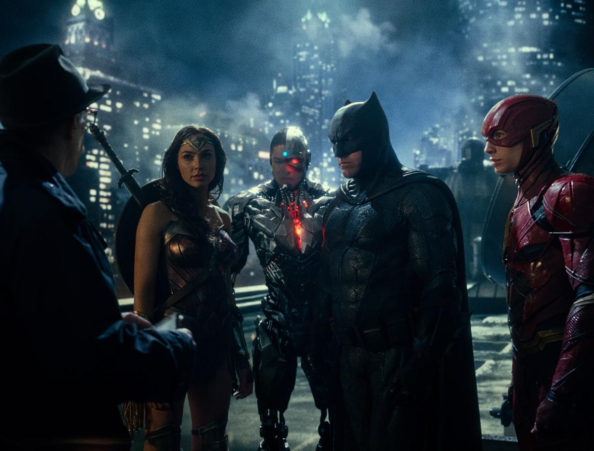 'Justice League' still 1 for Red