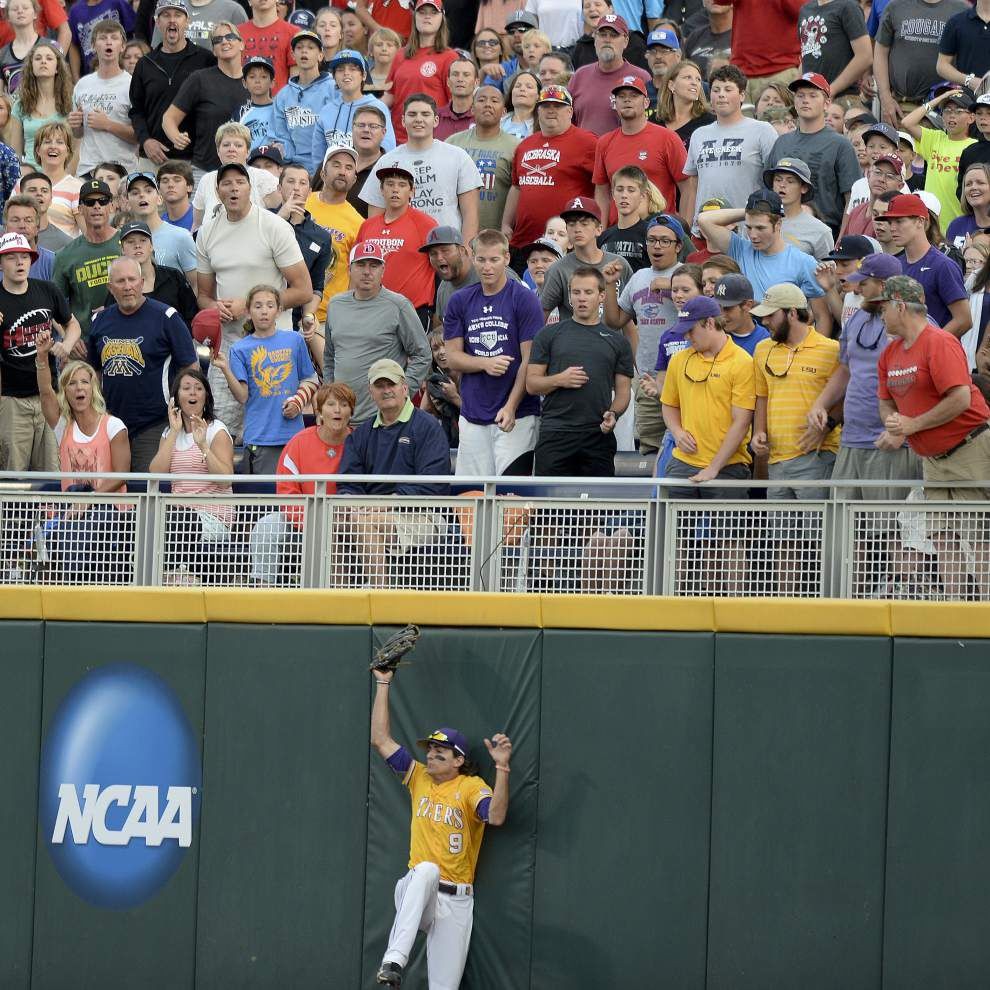 Rabalais: Why 'it's a little remarkable' LSU baseball made it this far in Omaha _lowres