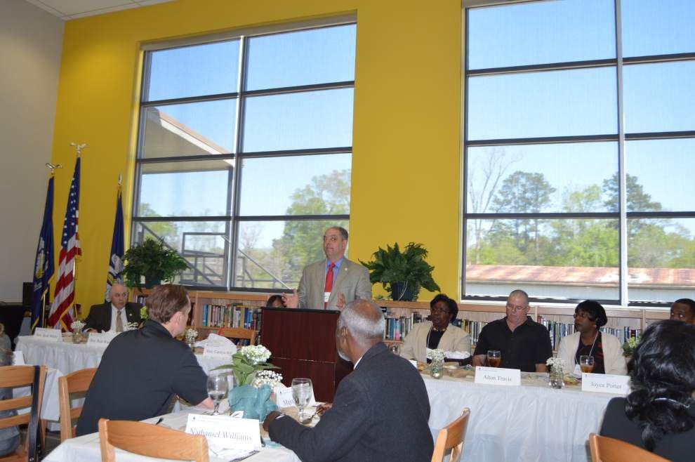 St. Helena   School board holds legislative forum _lowres