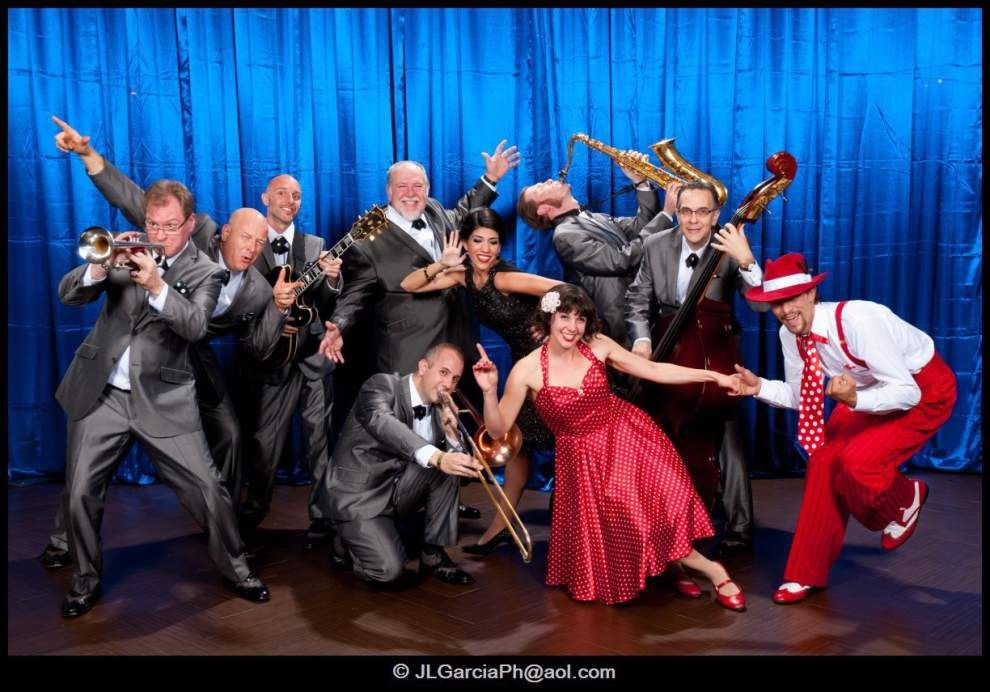 Stage Door Canteen's 'Jump, Jive & Wail' pays tribute to Louis Prima _lowres