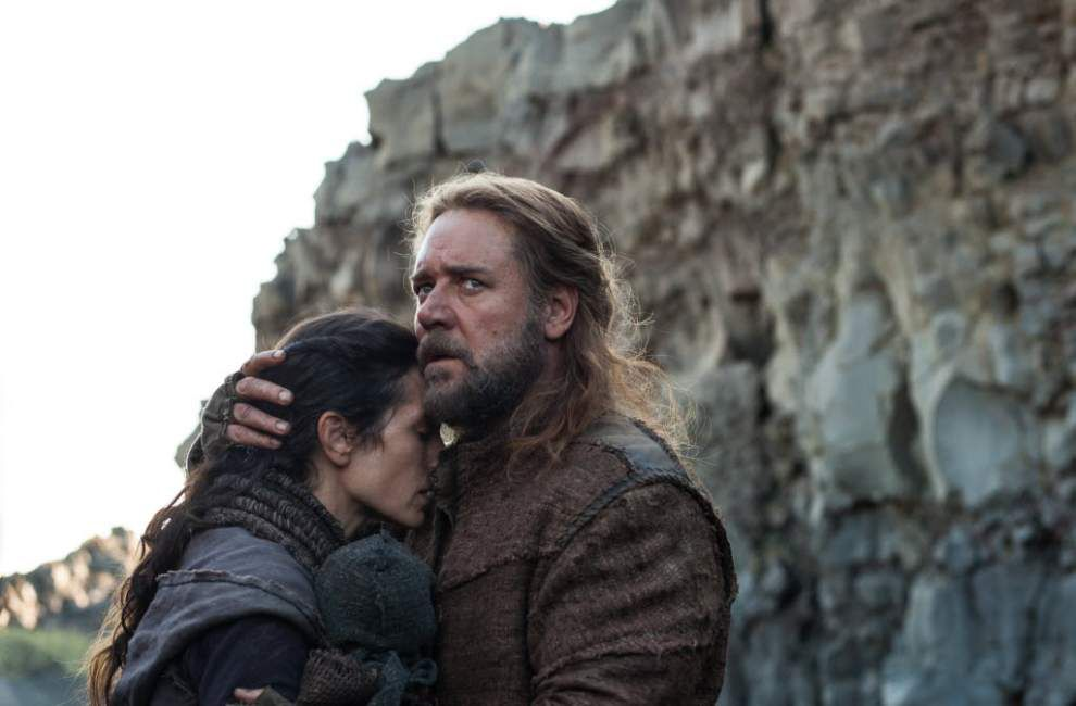 No pope meeting for Russell Crowe, 'Noah' makers _lowres