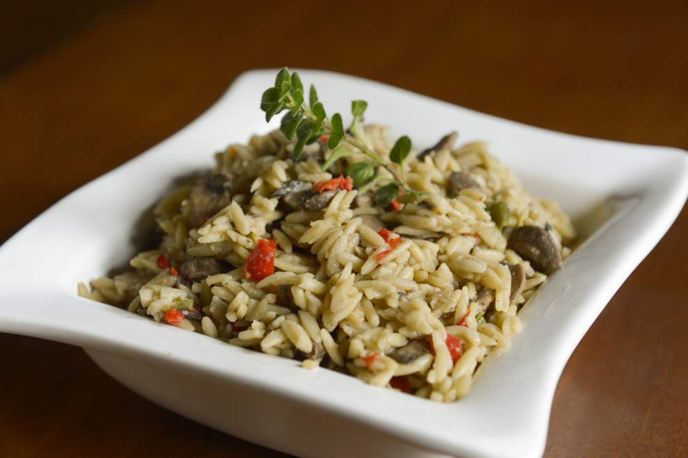 Eat Your Vegetables: Add mushrooms to orzo for tasty side dish _lowres