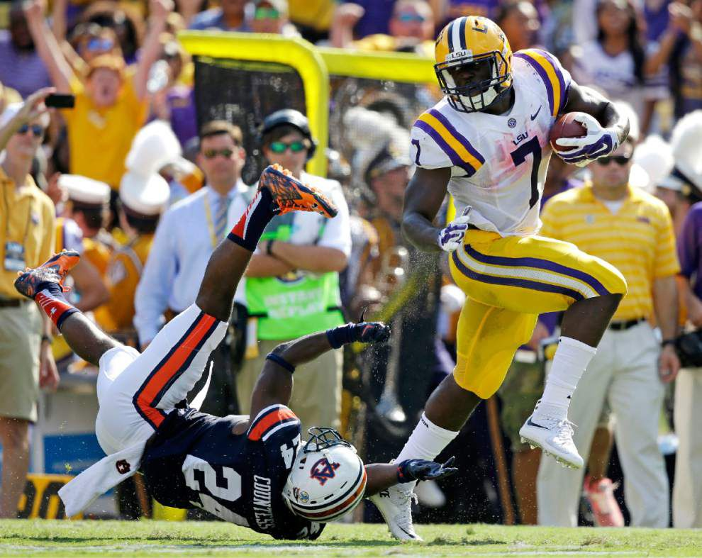 LSU Film Room: O-line dominates; Leonard Fournette crushes defenders; and, oh, so many other highlights _lowres