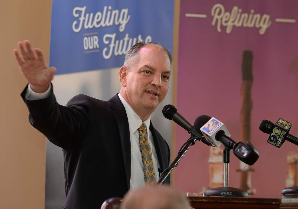 Louisiana Gov. John Bel Edwards' energy opponents now friends, especially when it comes to fundraising _lowres
