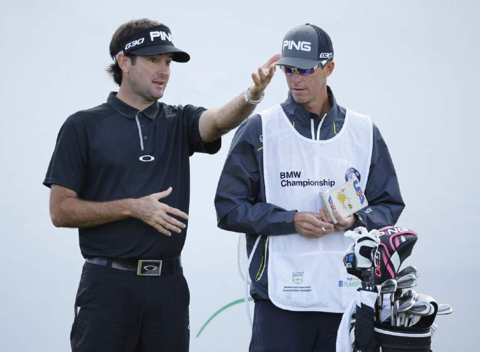 Scott Rabalais: Caddie Ted Scott of Lafayette says Bubba Watson is an artist at Augusta National _lowres