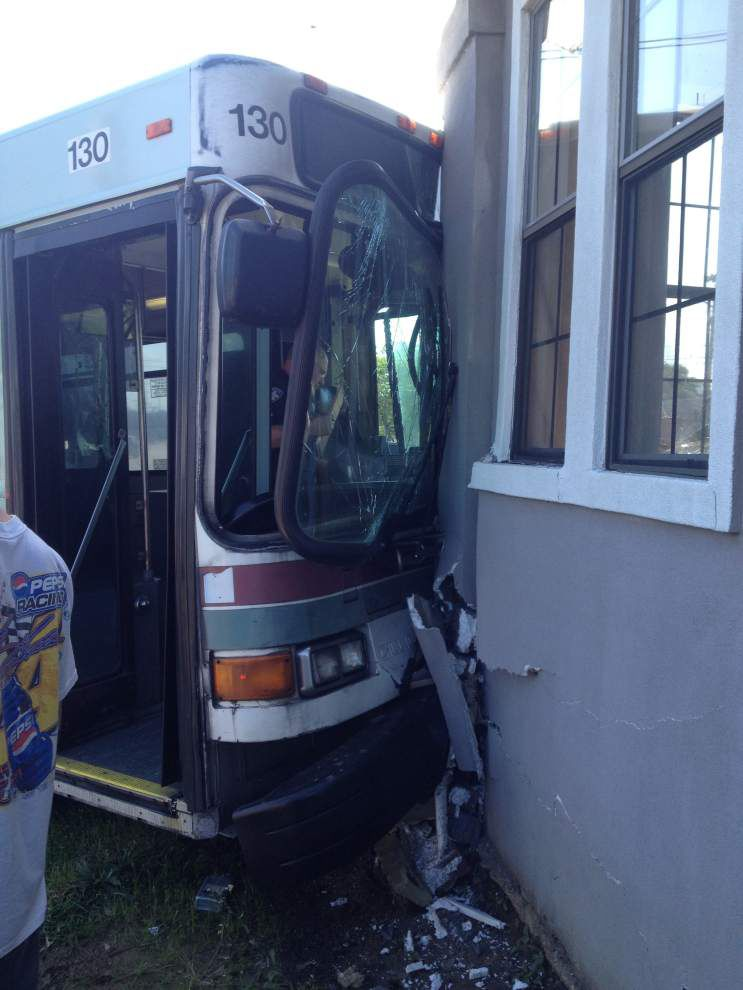 Driver error, not mechanical problems, caused CATS bus to plow into house in April, police conclude _lowres