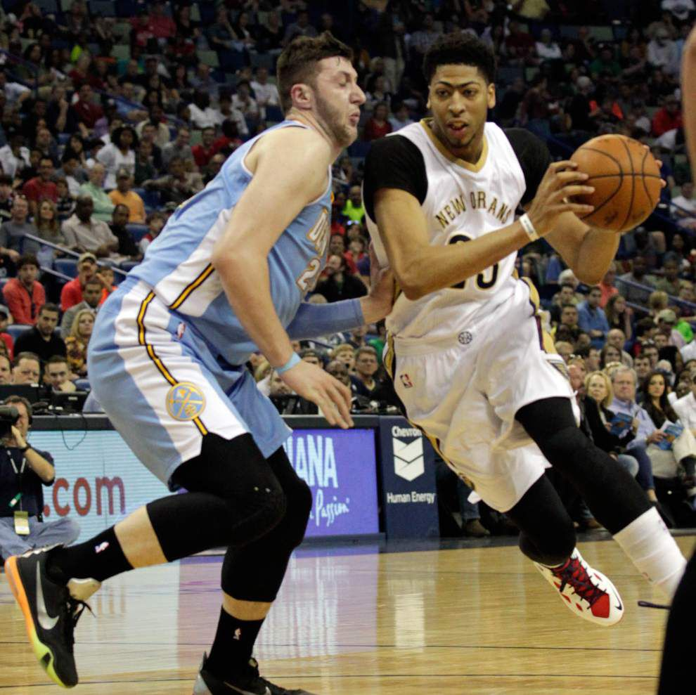 Lewis: Win or lose, Pelicans are making strides _lowres