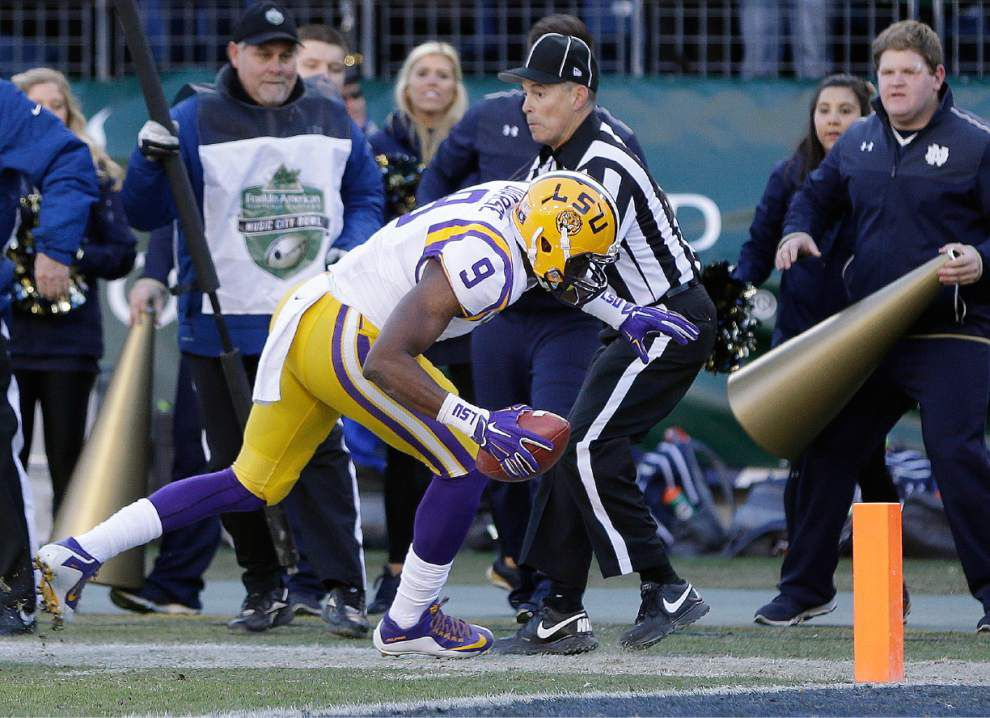 Video: LSU receiver John Diarse talks about his 75-yard touchdown reception in the Music City Bowl _lowres