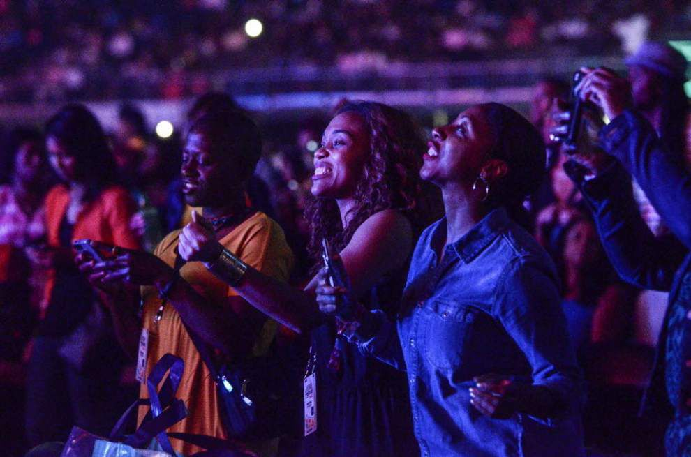 Essence Festival draws an estimated crowd of 500,000 for four-day events in New Orleans _lowres