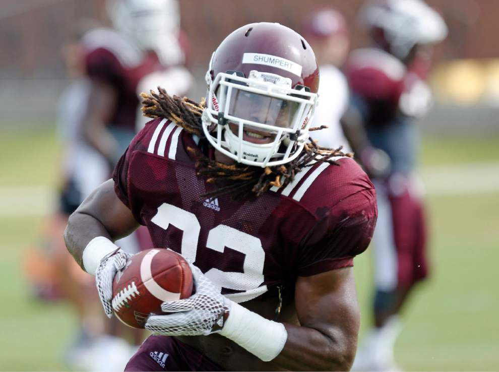 Mississippi State running back Josh Shumpert takes over the top job _lowres