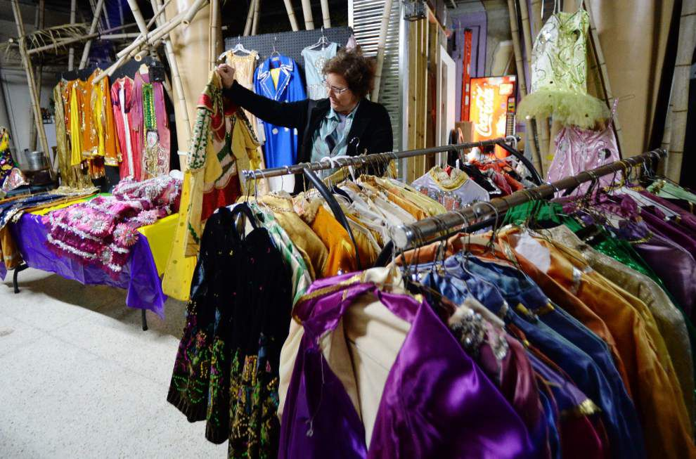Photos: Vintage Mardi Gras costume sale _lowres