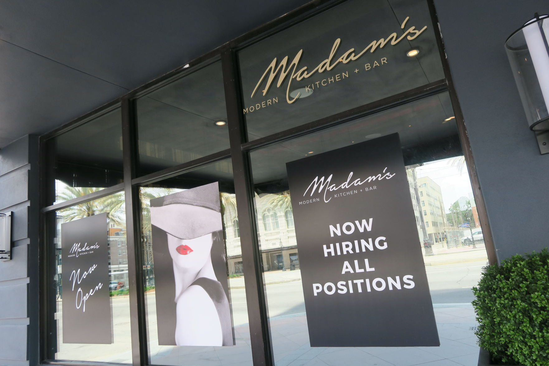 Madamu0027s Modern Kitchen + Bar Is The New Restaurant In The B On Canal Hotel  In Downtown New Orleans.