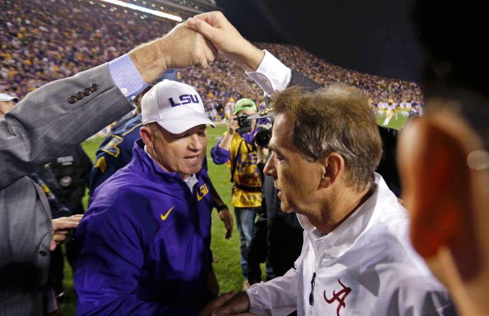 Predictions: Who's picking LSU? Who's taking Alabama? And give us your best guess! _lowres