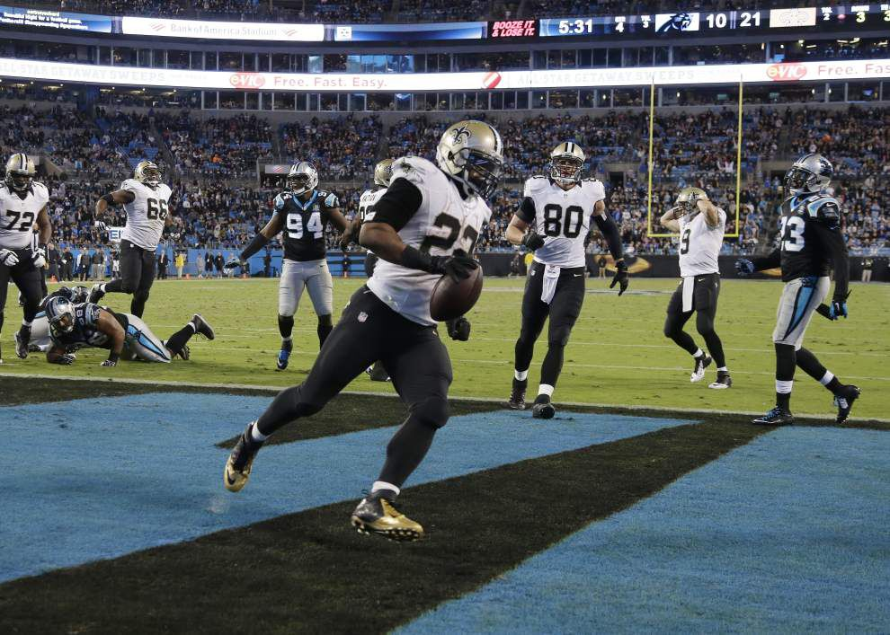 First look: New Orleans Saints take on Carolina Panthers Sunday _lowres