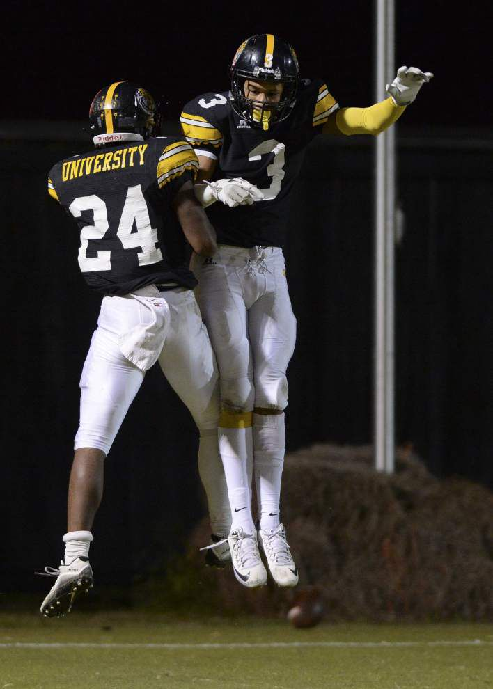 Photos: Dutchtown falls to Zachary, U-High handles Vanderbilt Catholic in Friday night prep football _lowres