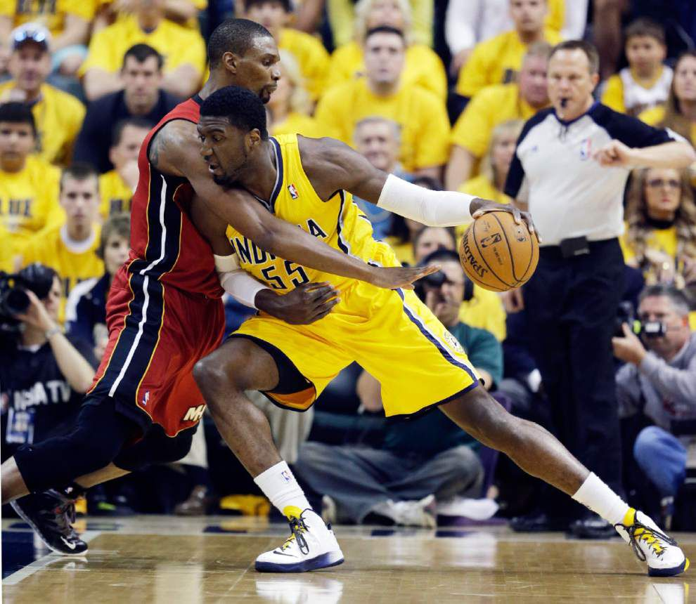 Paul George, David West lead Pacers over Heat _lowres