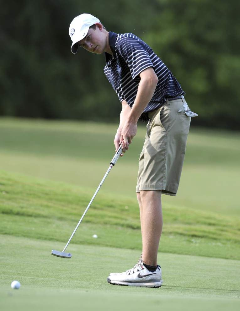 St. Thomas More boys golfers finish fourth in Division I again _lowres