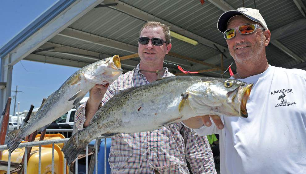 Change in wind direction aids speckled trout reports _lowres