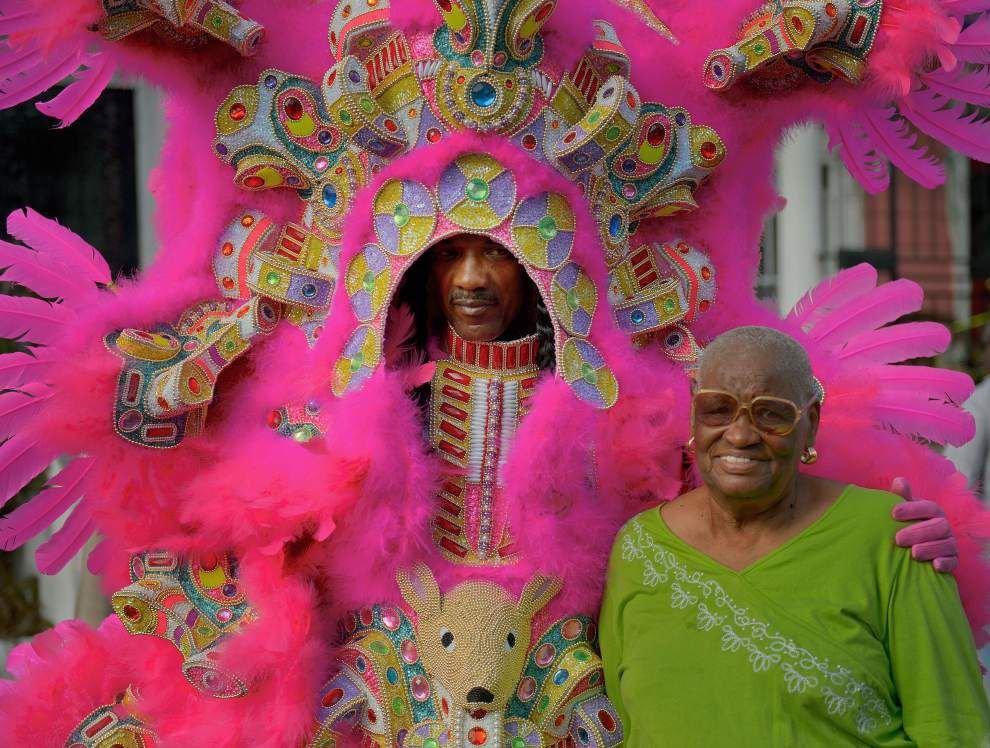 St. Joseph's Day with the Yellow Pocahontas Mardi Gras Indians _lowres