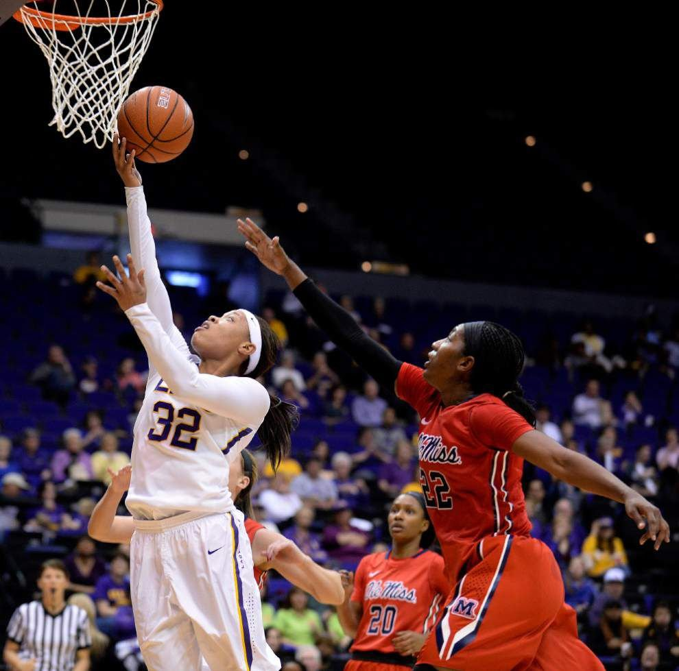 In limited time, Lady Tigers' Danielle Ballard lands on SEC coaches' first team _lowres