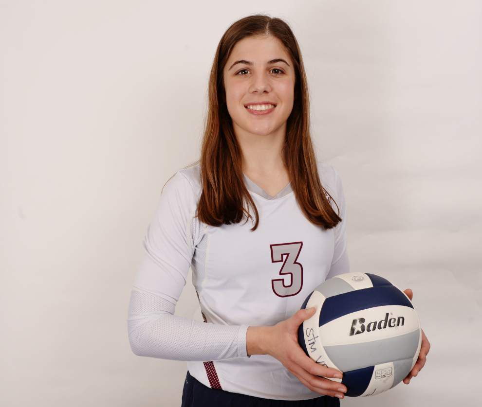 St. Thomas More's Avery Breaux commits to Louisiana-Lafayette in volleyball _lowres