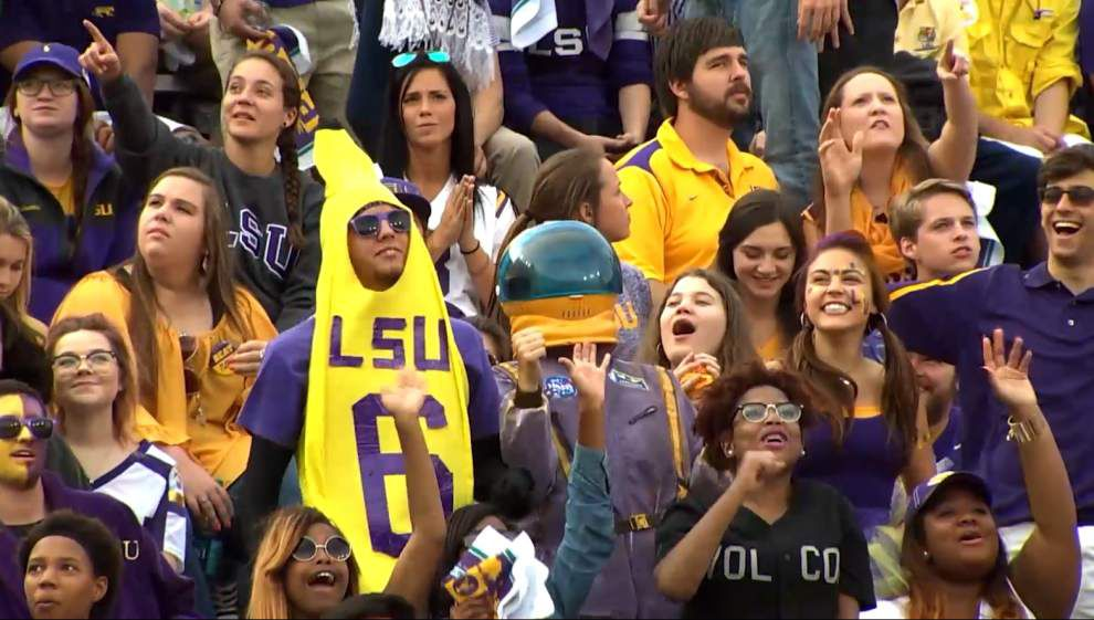 Tiger band videographer's latest puts LSU fans in the spotlight; did you make the final cut? _lowres