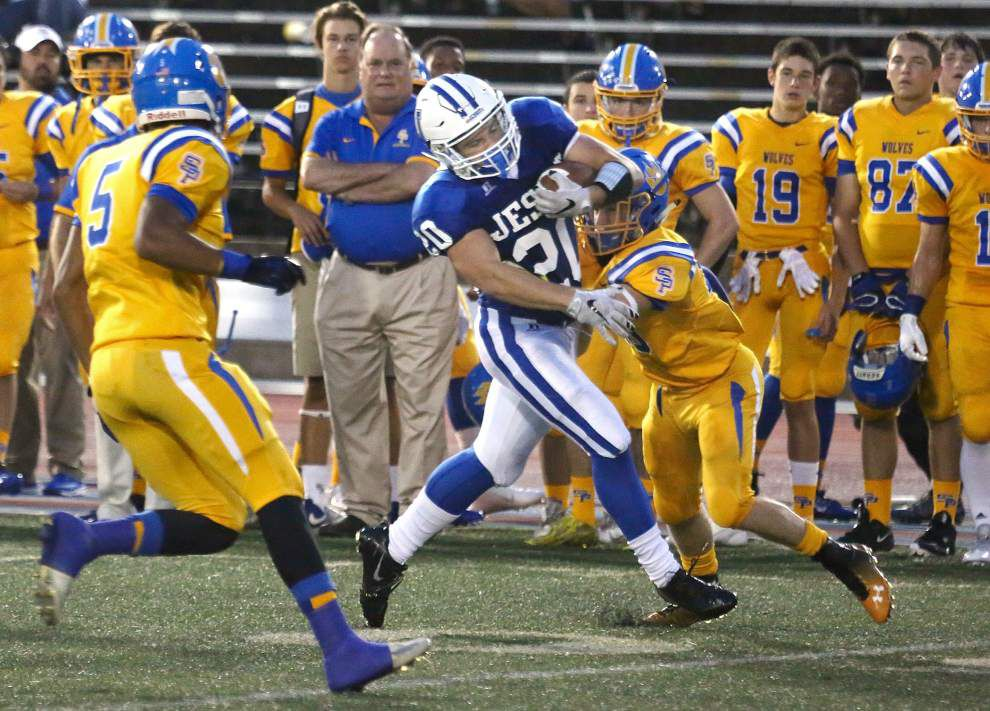 State roundup: Jesuit uses strong ground game to top St. Paul's _lowres