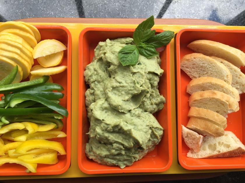 Side Dish: Recipe for Avocado White Bean Dip