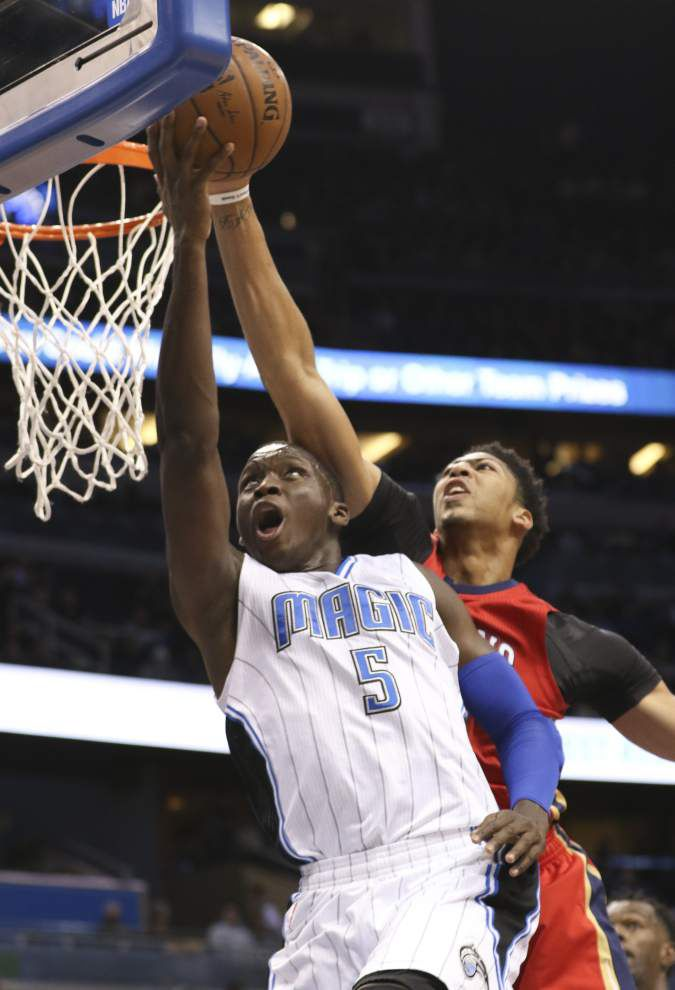 Pelicans start second half of season with loss to Magic _lowres