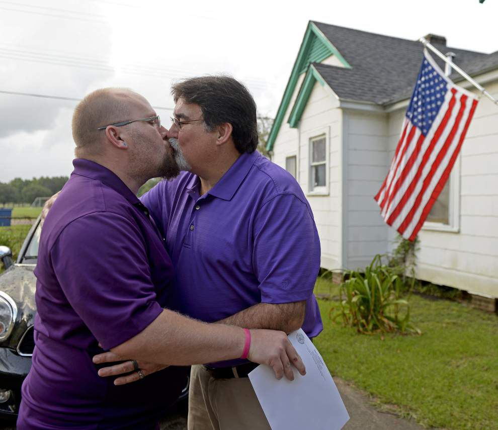 Photos: Same-sex couples finally say 'I do' in Baton Rouge _lowres