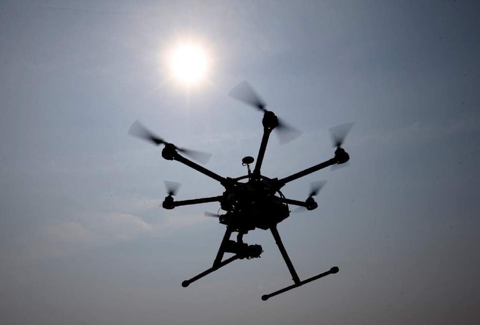 Ascension Parish resident shoots down neighbor's drone, says wife felt like it was watching her _lowres
