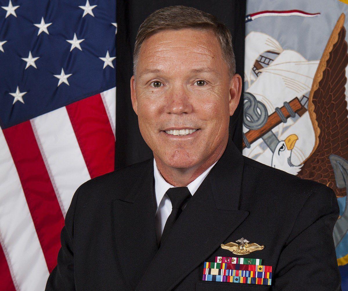 Navy Chaplain Capt. Loften Thornton