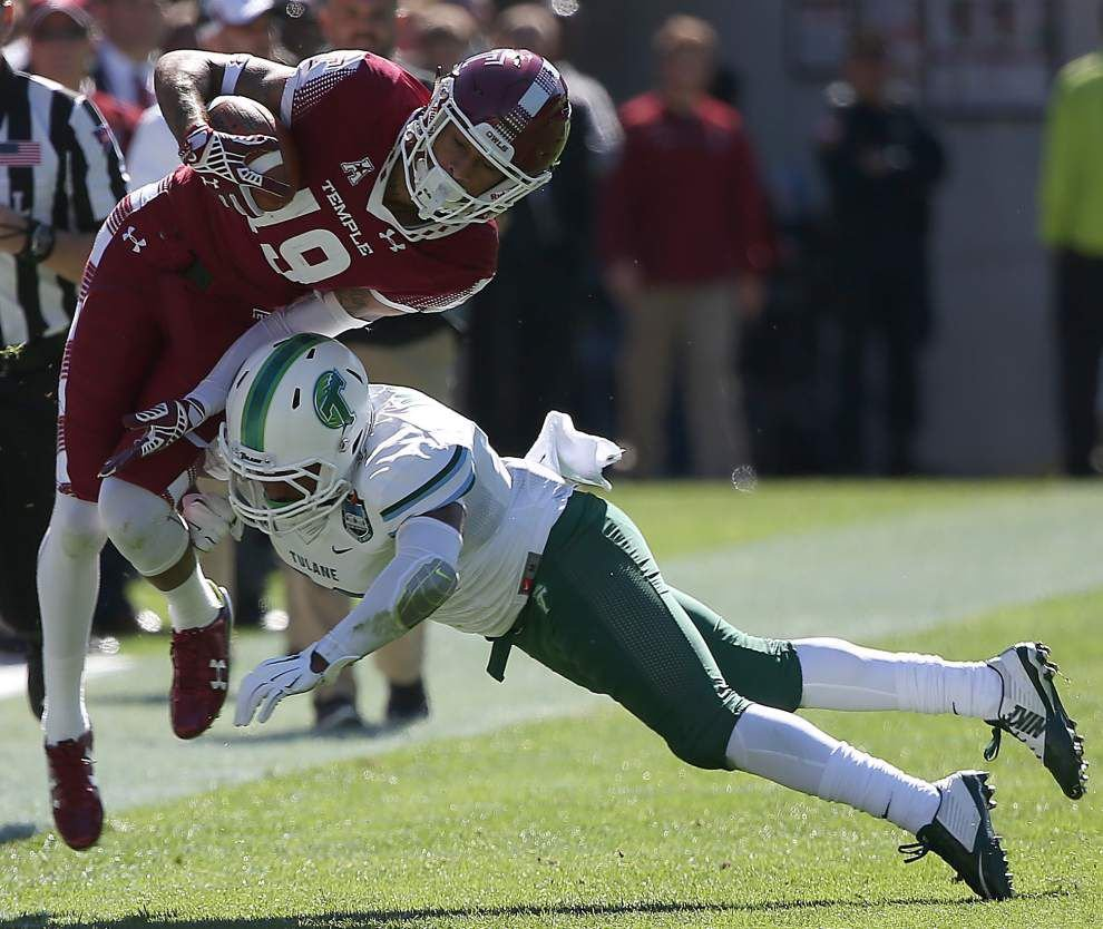 Temple 49, Tulane 10: Guerry Smith's three and out _lowres