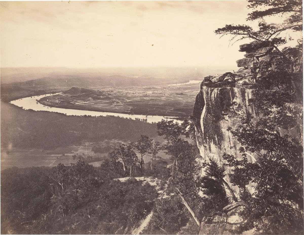 'Chattanooga, Tennessee from Lookout Mountain, 1864-1865'
