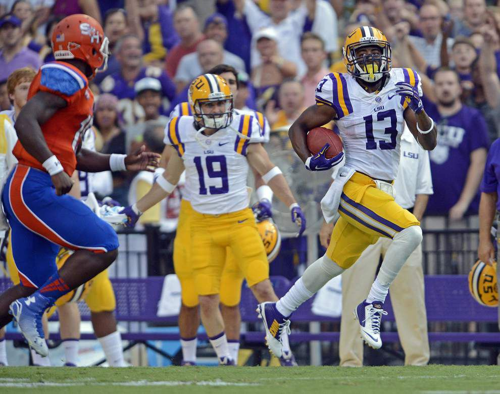 'This is the comeback season': LSU DB Dwayne Thomas leaping over hurdles and up the depth chart _lowres