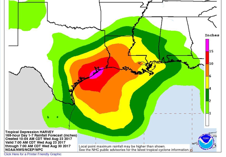 Harvey rain