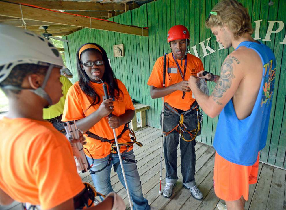 Photos: Summer camp zip lining _lowres