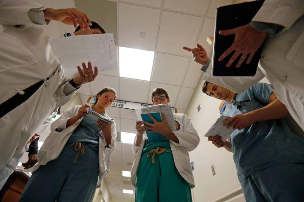 Louisiana's deep budget woes threaten future of doctor-training programs, experts say _lowres