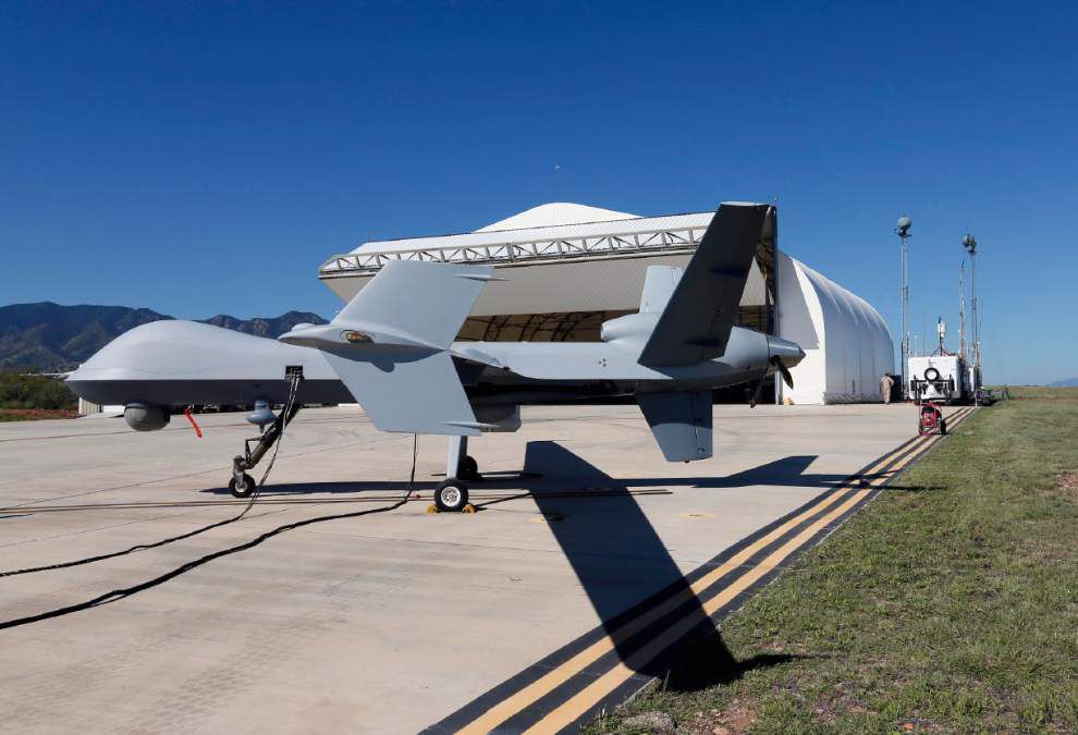 Report: Agency should abandon plans to buy new drones _lowres