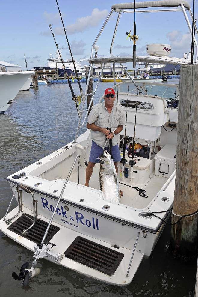 Meet Kurt Cheramie -- the fishing vet who caught 1st tarpon in this year's Grand Isle rodeo _lowres