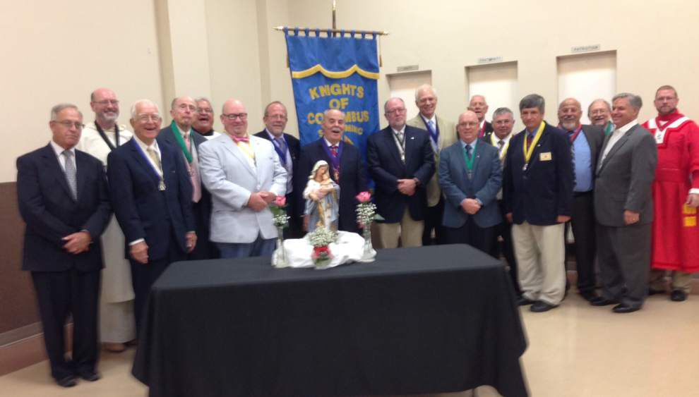 St. Dominic Knights of Columbus installs council officers _lowres