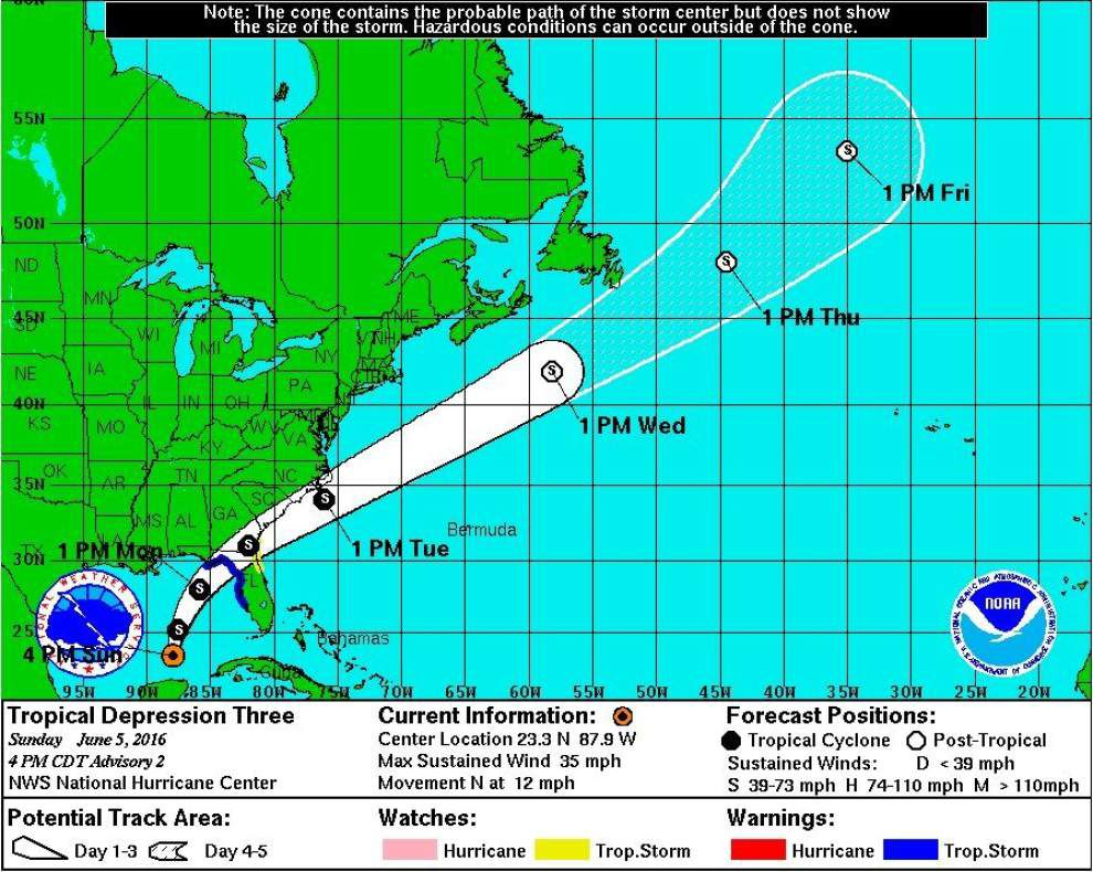 Tropical Storm Colin forms in Gulf of Mexico, expected to dump rains on Florida _lowres