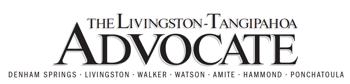 The Advocate - Livingston Tangipahoa Weekly News