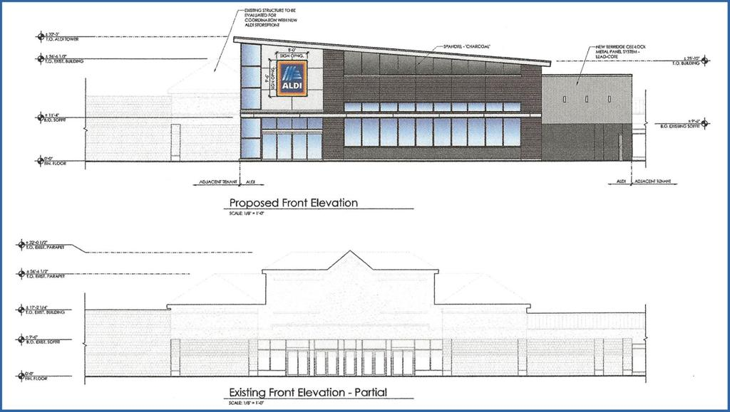 Aldi Receives Ok For Façade Renovation At Former Kmart In Peters News Thealmanac Net