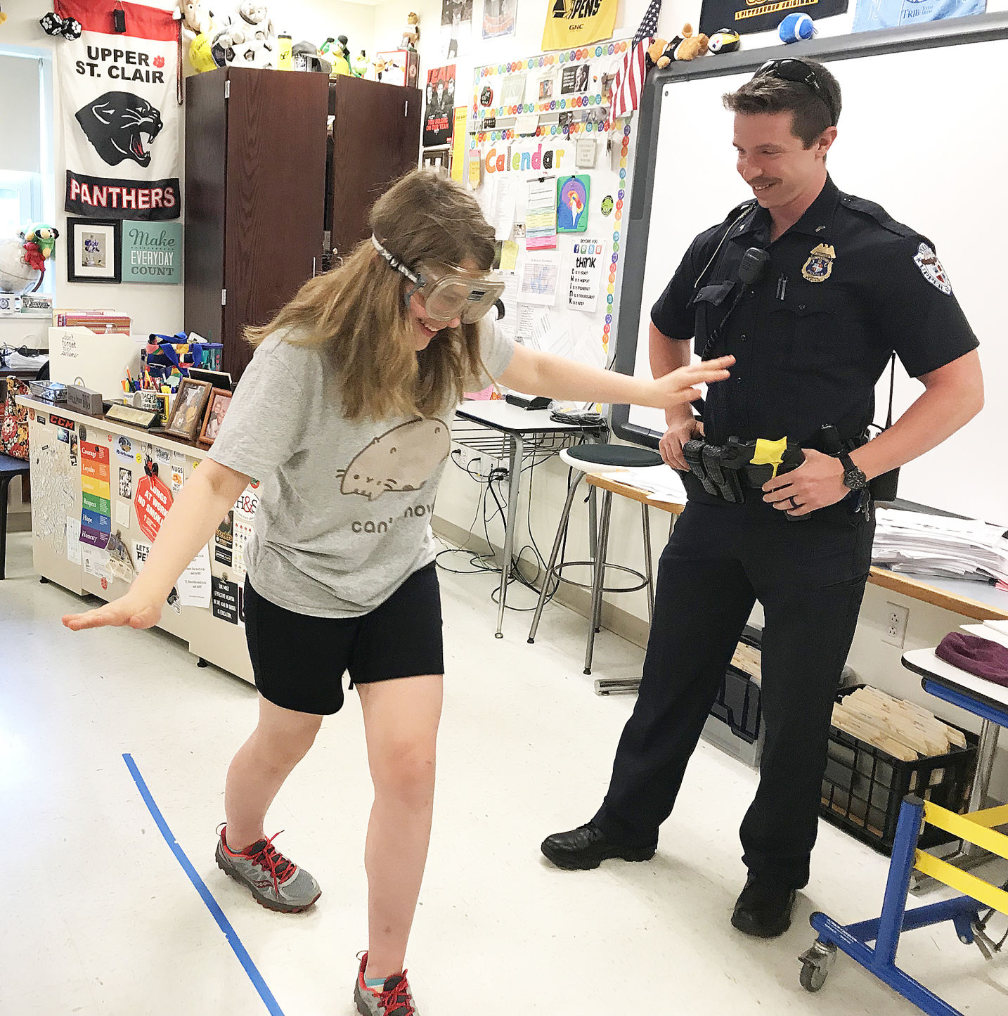 Each Year Fort Couch Middle School Partners With The Upper St. Clair  Township Police To Deliver A Series Of Three Lessons To All Eighth Graders  About The ...